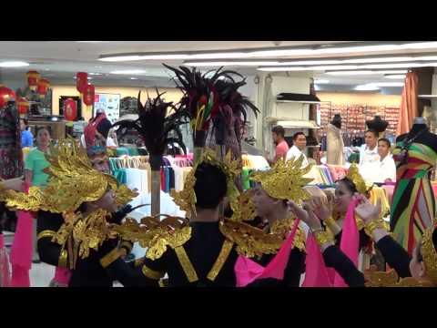 SINULOG FESTIVAL CEBU PRACTICE IN AYALA MALL CEBU & LOCAL METRO MALL CEBU 2014
