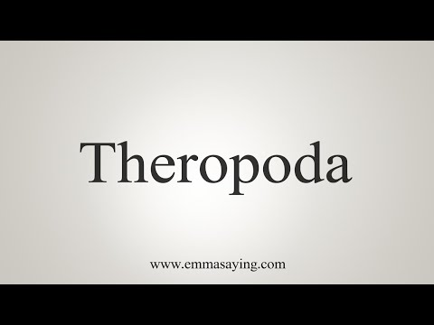 How To Pronounce Theropoda