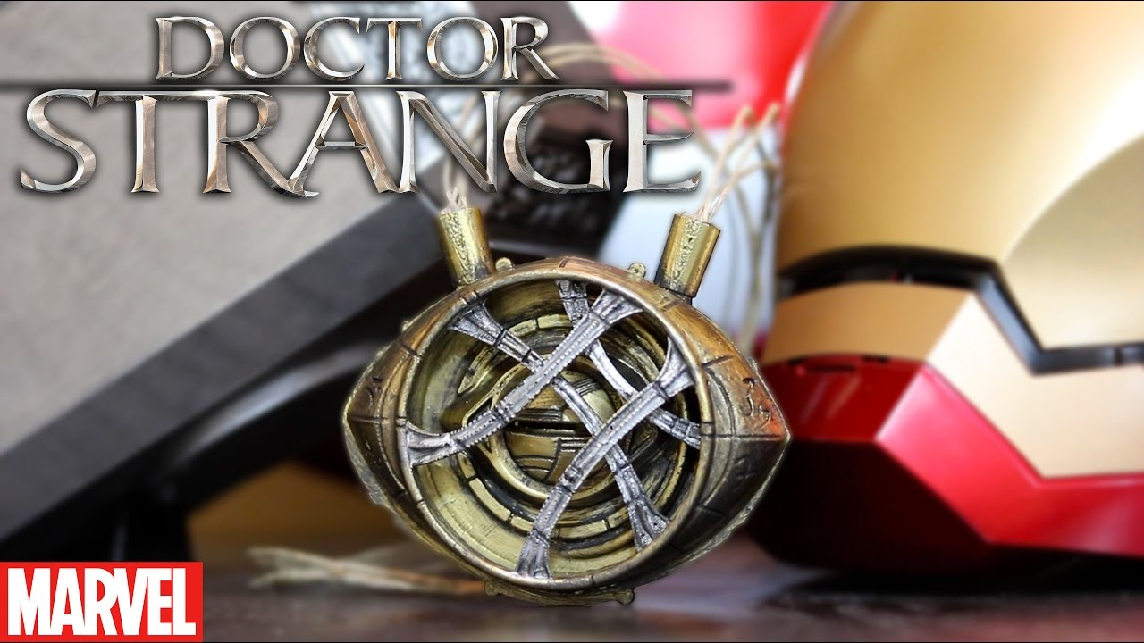 Doctor Strange 3D Printed Eye of Agamotto Replica Prop | How To