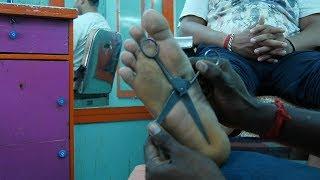 Asmr Relaxing Scissor Foot Feet Massage How To Massage Acupressure For Relief Sleep