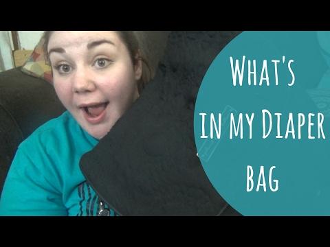 What's in my diaper bag?//Diaper bag clean out