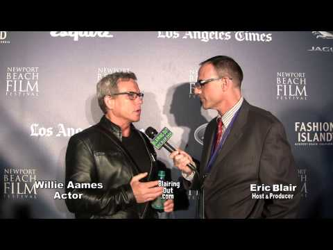 2014 Newport Beach Film Fest Willie Aames talks w Eric Blair ...
