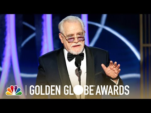 Brian Cox Wins Best Actor in a Television Drama - 2020 Golden Globes