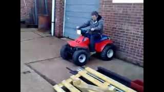 Essex Boys Attempt Quad Bike Stunt