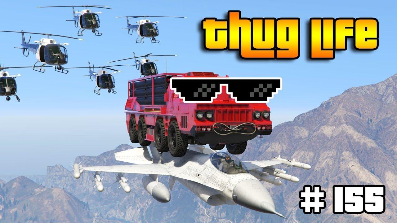 GTA 5 THUG LIFE AND FUNNY MOMENTS (Wins, Stunts and Fails #155) thumbnail