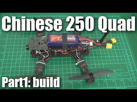 Review: Cheap carbon Chinese 250-size mini quadcopter (part 1)