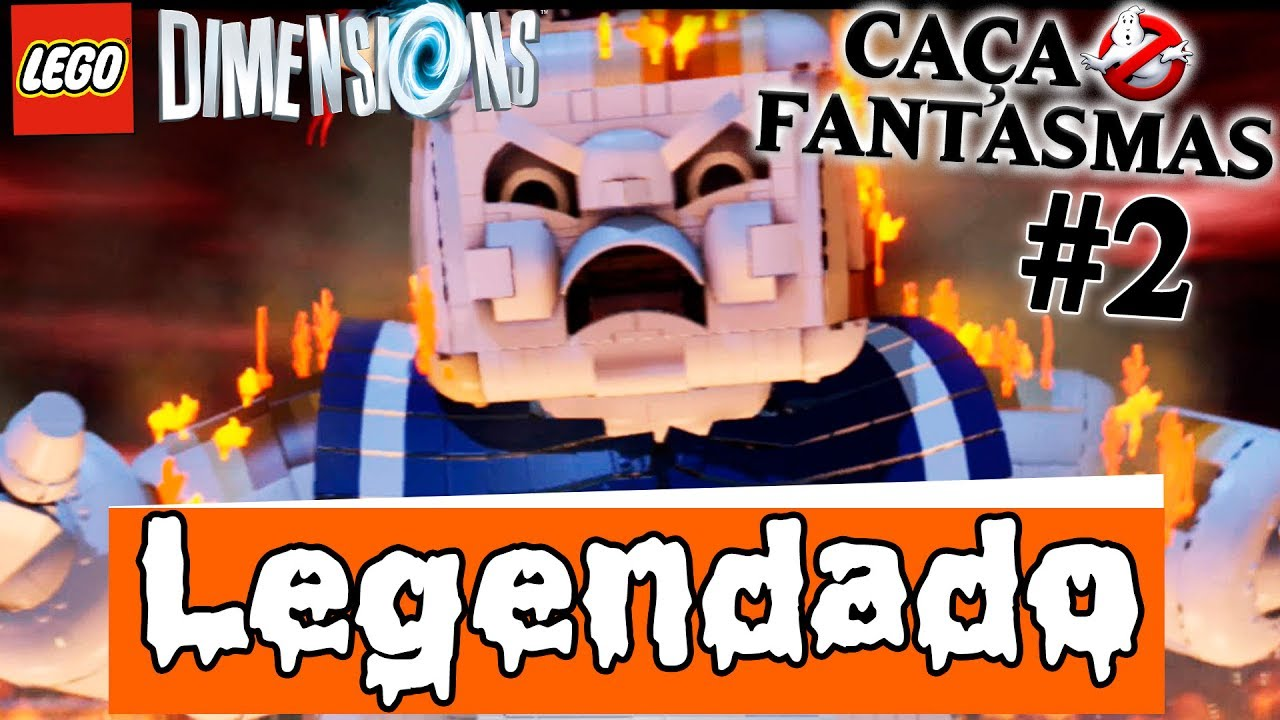 LEGO Dimensions PT-BR #41 Os Caça-Fantasmas Parte 2 de 2 - Level Pack [Legendado!]