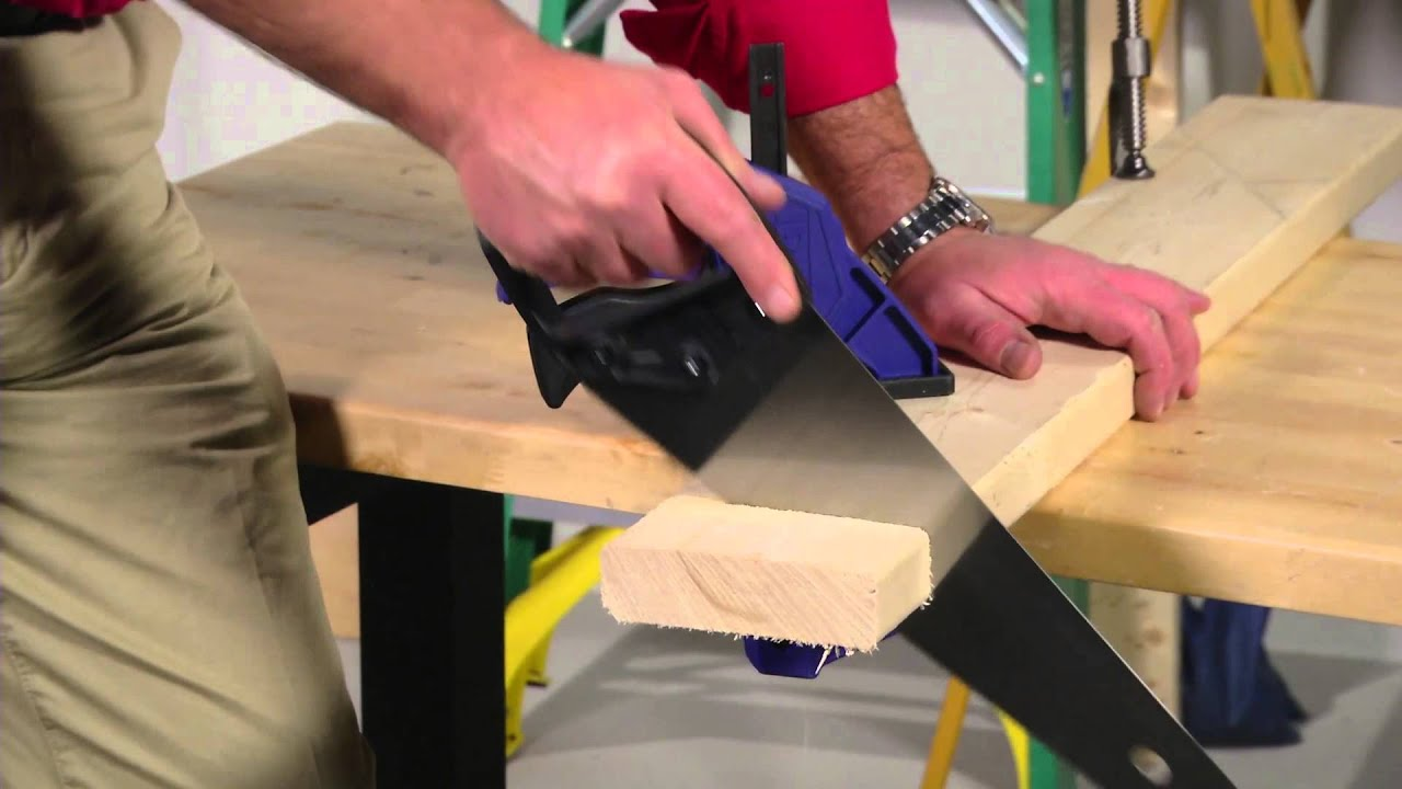 Learn How To Use A Hand Saw Correctly Cut The Wood