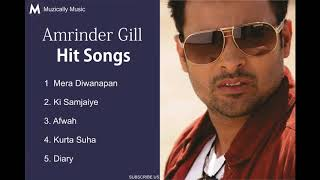 Amrinder Gill Hit Songs   JukeBox   All Time Hits