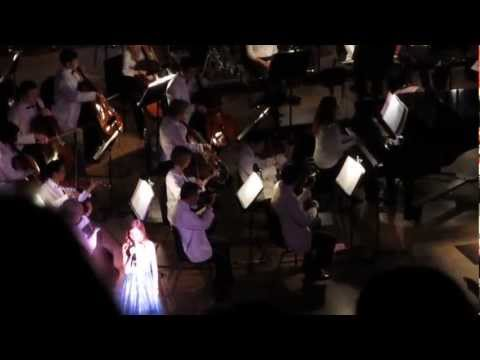 Jackie Evancho singing My Heart Will Go On at 2013 Pittsburgh concert