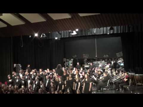 Sleigh Ride 2016 Combined Choirs and Band Eastern Randolph High School