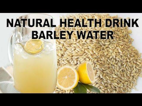 Natural Health Drink – Barley Water