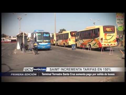 Trujillo: Terminal terrestre Santa Cruz aumenta pago por salida de buses