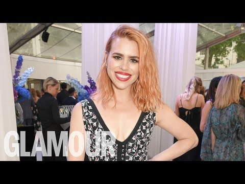 Billie Piper: Shisheid Group Theatre Actress | Glamour Women of the Year Awards 2017 | Glamour UK