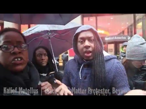 Black Lives Matter Protester Warns of Coming