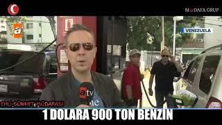 Venezuela'da 900 ton benzin 1 dolar !