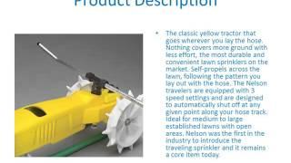 Nelson 1865 Raintrain Traveling Sprinkler – a brief