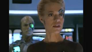 Borg Drone One enhances systems on Voyager