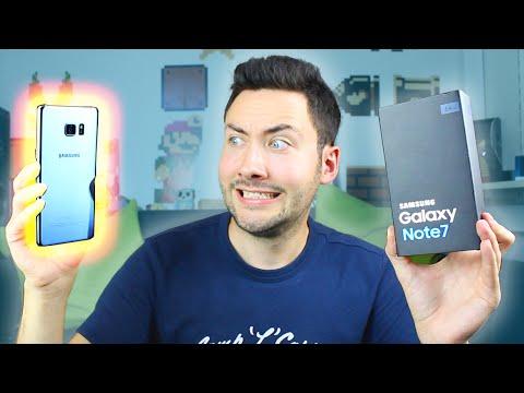 Le Smartphone qui Explose ?! : Galaxy Note 7 (Unboxing)