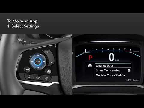 Honda Pilot: How to Personalize the Driver Information Interface (DII)