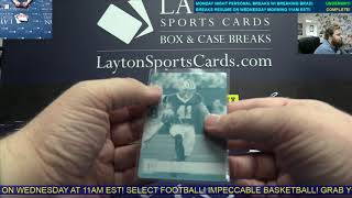 2018 Plates & Patches Football 2 Box Break for Daniel A