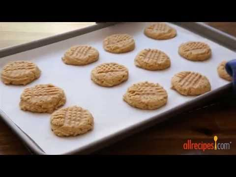 How to Make Three Ingredient Peanut Butter Cookies | Cookie Recipes | Allrecipes.com