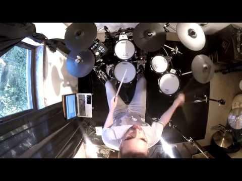 KANDIA    SCARS drum cover by Arlindo Cardoso (HD)