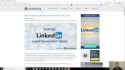 The Most Important Statistics about Lead Generation on LinkedIn