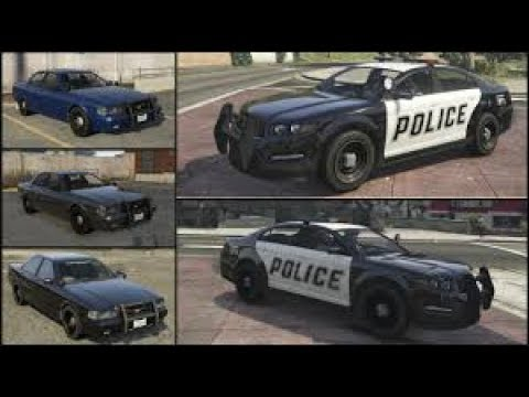 GTA V How To Get Police Vehicles For Director Mode
