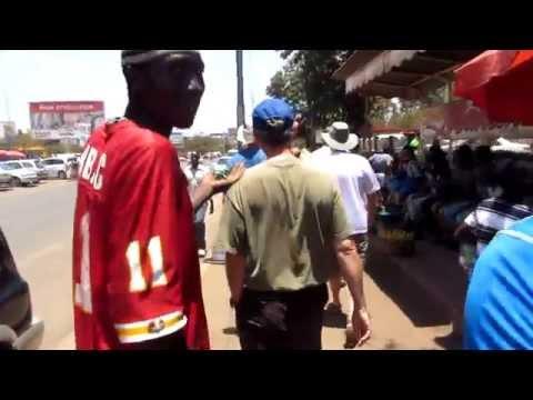 Walking the streets of Moshi, Tanzania