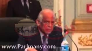بالفيديو.. عبد العال لرؤساء التحرير: لم نتسلم قانون الصحافة وسنناقشه فور وصوله للمجلس