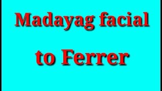 Maddie Madayag gives facial to Jem Ferrer