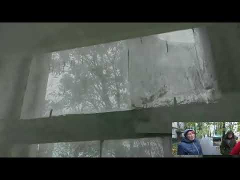 Полтава 2.11.2017 Жители Циолковского 37 требуют за свои деньги соответствующего отношения