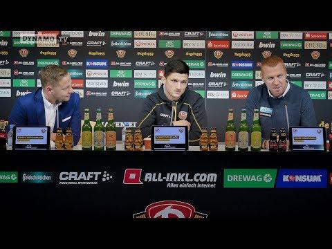 15. Spieltag   FCSP - SGD   Pressekonferenz vor dem Spiel