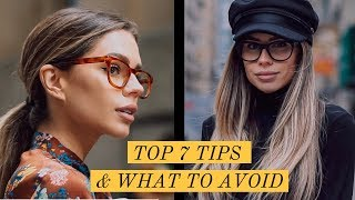 HOW TO STYLE GLASSES WITH OFFICE WEAR LOOK BOOK | TOP 7 TIPS