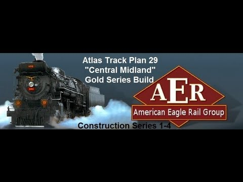 Atlas Track Plan 29 The Central Midland Custom Model Railroad Construction