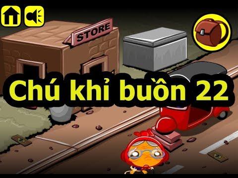 Chú khỉ buồn 22, Chơi game chú khỉ buồn online tại Gamehay24h.vn