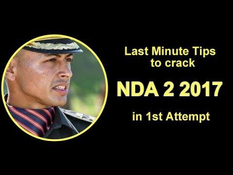 Last Minute Tips For NDA (II) 2017 Exam