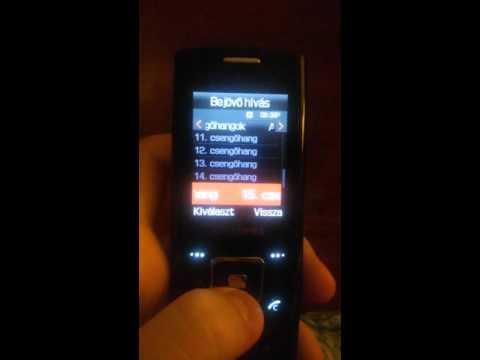 Samsung E900 ringtones