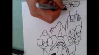Dibuja a Pulso El ORGANOIDE ZOID DE VAN XDB