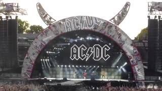 AC / DC Axl Rose (multicam) -  Back in Black LIVE @ Aarhus Denmark Ceres Park 2016