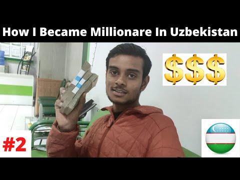 How I Got Uzbek Currency ! hitchhiking In Uzbekistan !!