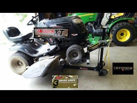 685e0b42aa0 MoJack XT 500 LB Lawn Mower Lift Review   Riding Lawn Mower Maintenance  Tips By KVUSMC