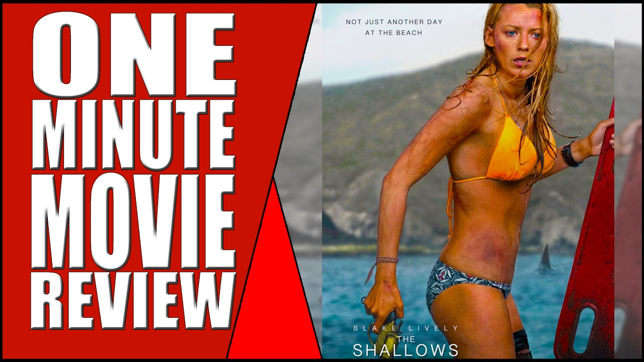 1bc3df63ed Bikini Blake Lively vs. Giant Shark - The Shallows - One Minute Movie Review