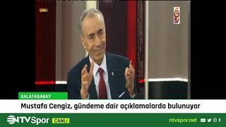 CANLI - Galatasaray Kulübü Başkanı Mustafa Cengiz konuşuyor