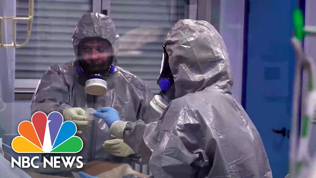 Italian Hospital Shows How Medics Can Avoid COVID-19 Infection | NBC News
