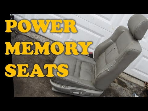 How Power Memory Seats Work Youtube