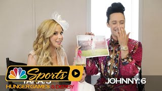 Kentucky Derby or Hunger Games? Johnny Weir and Tara Lipinski decide I NBC Sports
