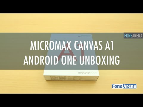 Micromax Canvas A1 Unboxing - Android One
