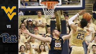 West Virginia vs. Pitt Basketball Highlights (2017-18)